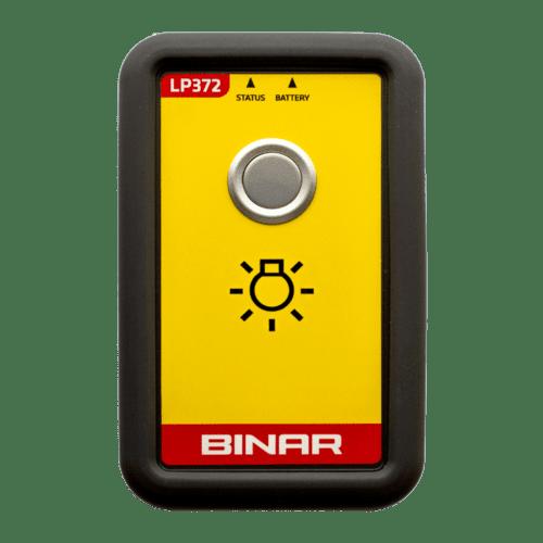 LP372 – Trådlös Andon-knapp framsida