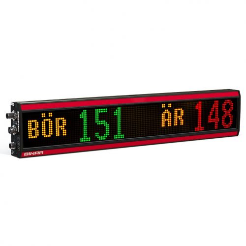 BiDisp3 – Graphical multi-color LED display