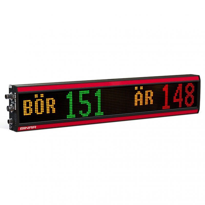 BiDisp3 – Grafisk multi-color LED-display