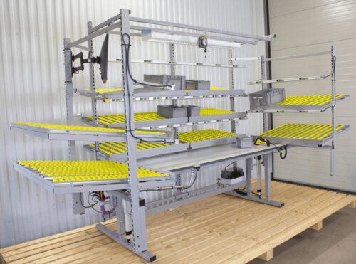 Flow rack-arbetsstation