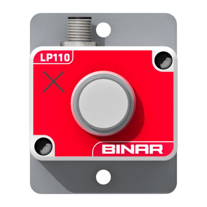 LP110 – Stopp-knapp