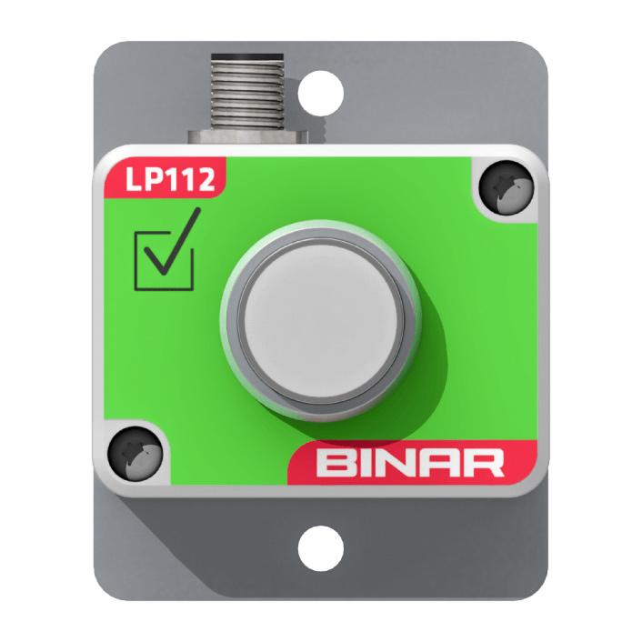 LP112 – Klar-knapp