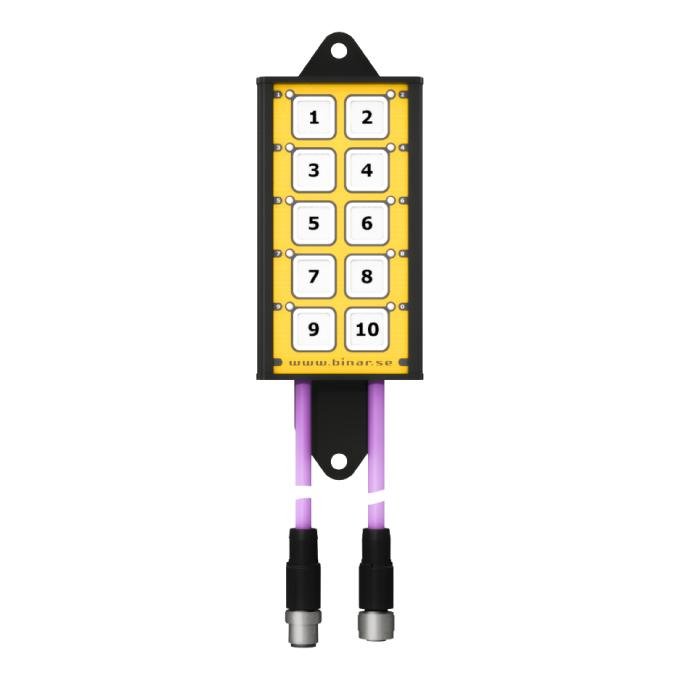 LP220 – Kundanpassad knapp-panel