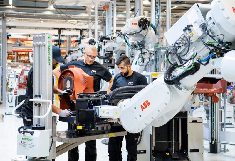 ABB Robotics effektivisering