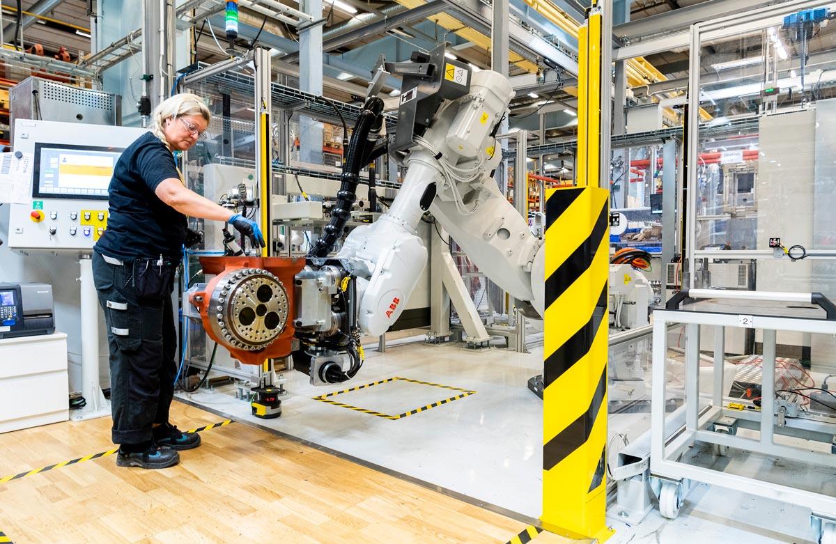 ABB Robotics Lean Manufacturing