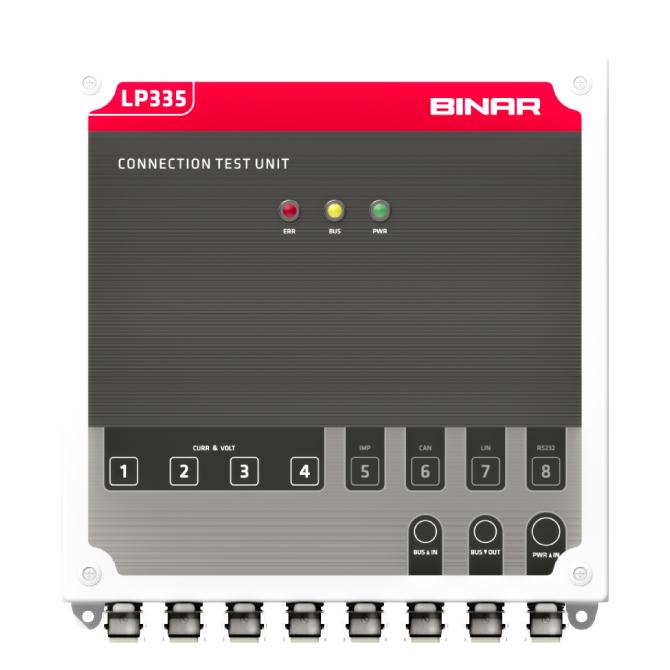 LP335 / CTU – Testsystem för elektriska inbäddade system